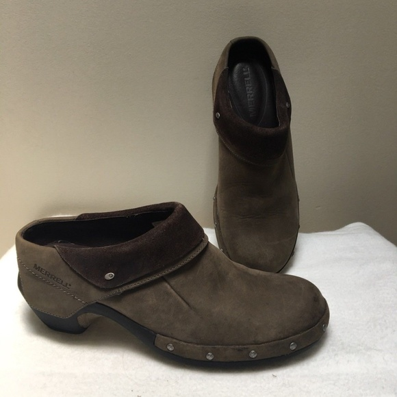 fe518c34772c Merrell Shoes - Merrell Drizzle Comfort Wrap Gray Clogs Shoes 9.5